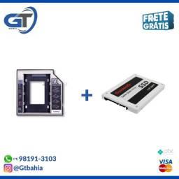 SSD 128gb + Adaptador para notebook