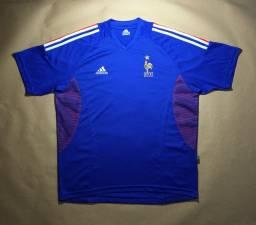 Camisa Seleção França 2002