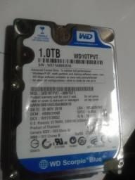 HD 1.0TB notebook barbada