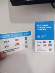 De crédito e débito Maquininha de cartão do Mercado Pago