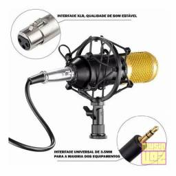 Título do anúncio: Microfone Condensador Oem Bm800