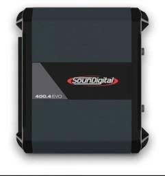 Modulo  amplificador  soundigital sd400 novo