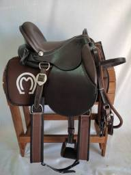 Sela Pista Premium Para Montaria - Sela de Cavalo