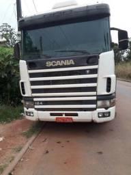 Caminhão Scania traçado