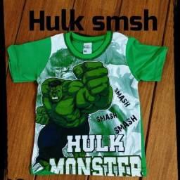 Camisa Hulk Tamanho 1