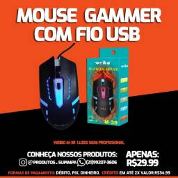 Mouse Gammer weibo com Fio