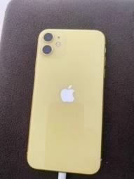 iPhone 11 amarelo 128G 4200