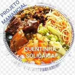 Quentinha solidária