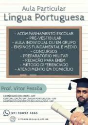 Aulas Particulares de Português/Redação