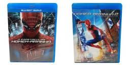 Blu Ray O Espetacular Homem Aranha 1 & 2