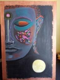 Quadro Cosmic Buddha