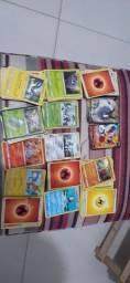 Vendo 118 cartas de pokémon
