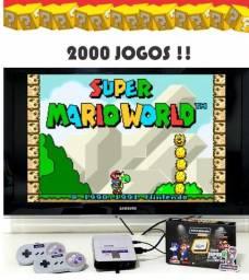 Game box super Nintendo 2000 jogos