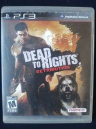 DEAD TO RIGHTS RETRIBUTION JOGOPS3