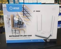 Roteador Tp Link 4 Antenas Dual Band Ac120 5g Lotus Lt-r002