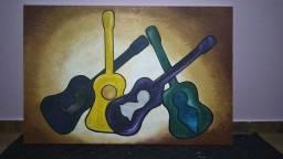 Tela violão abstrato