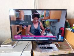 Tv Led Smart Android 32 Polegadas Semi Nova