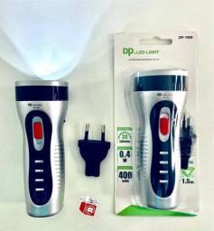 Lanterna LED Recarregável DP. LeD Light 30 Lumens