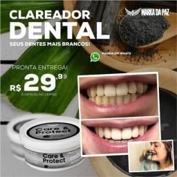 Clareador dental carvão ativado