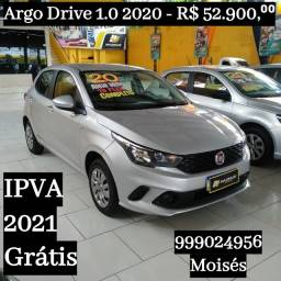 Argo Drive 1.0 2020 ipva Grátis