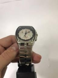 Relógio Sector prata masculino