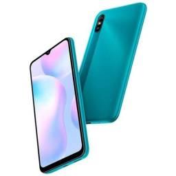 """Smartphone xiaomi redmi 9a tela 6,53"""" 2gb/32gb 4g, verde<br>"""