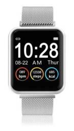 Relógio Smartwatch Sport Bracelet P80 Pratreado Com Duas Pulseiras Novo na Caixa
