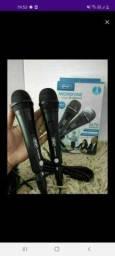 2 microfone de alta qualidade