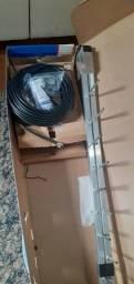 Antena para telefone rural