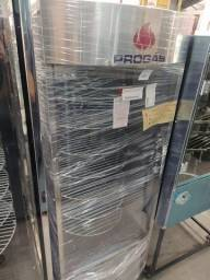 assador de carnes 70kg com bandejas giratório pronta entrega *douglas