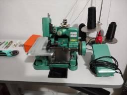 Máquina De Costura Overloque Semi Industrial Flawil + Mesa p/ Costura (GN1-6D)