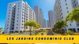 Les Jardins / Cocó / 2 quartos / 62 metros / Lazer Completo