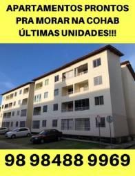 Apartamentos na Cohab!! Aproveite, apenas 3 unidades!!
