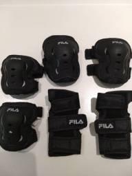 Joelheira ( kit de protetores Fila)