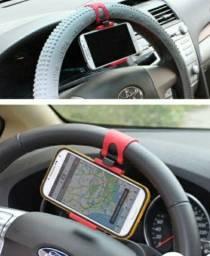 Suporte Celular p/ volante universal