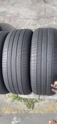 4 pneus meia vida 215/55/17