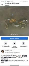 Título do anúncio: Moto nova de andar