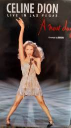 Box dvd celine dion - pop/romantico - 5 dvd originais