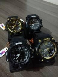 Relógio Militar Skmei Shock Original A Prova D?água ? Contato pelo Whats