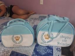 Carrinho e bolsas