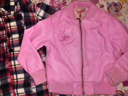 Casaco + jaqueta infantil.