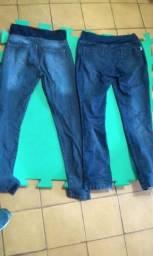 Roupas feminina 2 calças jeans. De gestantes perfeito estado