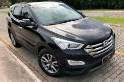 Hyundai Santa Fé 7 Lugares Com Teto de Único Dono - 2014