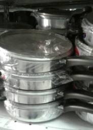 Frigideiras de alumínio,temos cores e tamanhos