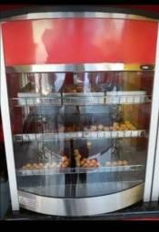 Vendo estufas de salgados Titan 12 bandejas 220w semi novas