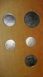 Vendo lote de 5 '''''moedas antigas para colecionar'''' por apartir de 50 reais