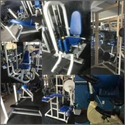 Máquinas e Aparelhos Academia Musculação
