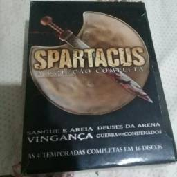 Box Spartacus completo original 16 dvds