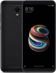 Smartphone Xiaomi Redmi 5 Plus Dual 64gb 12mp-preto e dourado