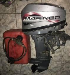 Motor de poupa de barco